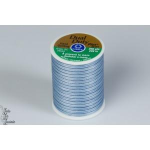 Fil Dual Dutuy 250 yard Multicolore  845coats quilt mavada dégradé bleu patch plaid