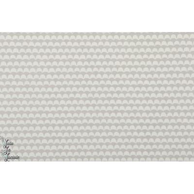 Viscose vague grise graphique mode