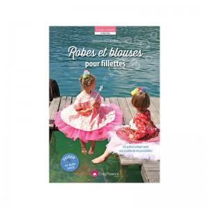 Livre Robes et blouses pour fillettes par Mélanie MOUBAREK  - patron couture fille