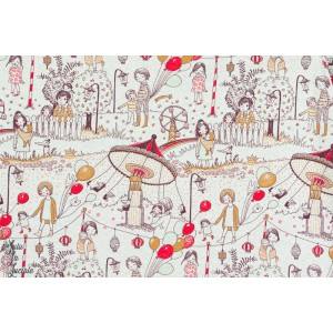 Jersey Bio Tivoli, meliert, Design: Susanne Bochem/ SUSAlabim pour lillestoff.