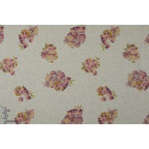 Summersweat bouquet chiné bio lillestoff fleur