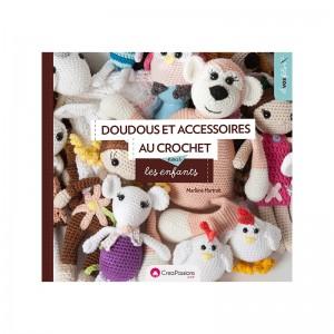 Doudous et accesoires au crochet pour les enfants MARLENE HURTRAIT Little bichon