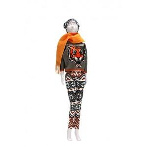 Kit dress your Doll Kathy Tiger barbie poupée couture fille
