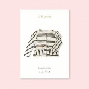 Patron Julie Jacket veste femme mode simple chic confortable nanoo