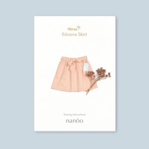 Patron jupe Mini Bibiana fille mode confottable chic enfant nanoo couture