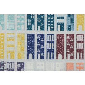 Popeline Dashwood LIJF 1318 Our Streets Life's journey rue ville plaid patch mavada quilt