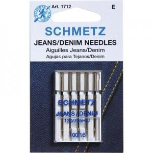 Aiguille SCHMETZ jeans 100