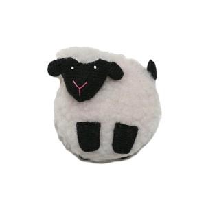 Mètre enrouleur mouton crochet animaux
