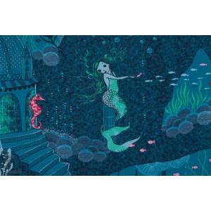 Jersey Bio Sirènes - Meerjungfrau - SUSALabim Lillestoff