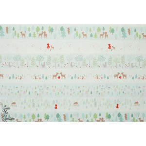 Popeline Dear Stella The red Ridind stripe 978 - Little red chaepron rouge enfant loup forêt