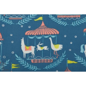 Popeline Dear Stella Merry Go roun manege sea side carnivale cirque animaux