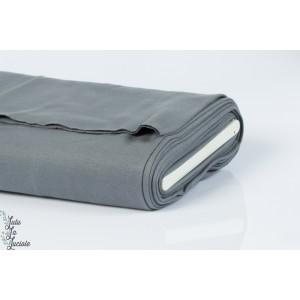 Tissu Bord-Côtes Gris tubulaire