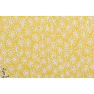 Pusteblumen, bamboo/white Jacquard dandelion pissenlit susalabim jaune été bio lillestofff