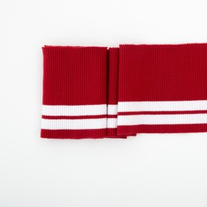 Bord Cote Rayures rouge Blanc poignet