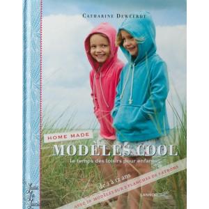 """Home Made """"Modèles cool"""", patron couture de vêtement pour enfant, moderne, pratique,usuel."""
