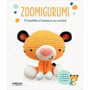 livre Zoomigurumi: 15 modèles d'animaux au crochet