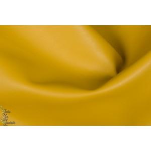 SImili cuir Moutarde jaune souple épais