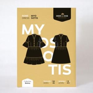 Patron robe Myosotis Deer and Doe femme été couture mode