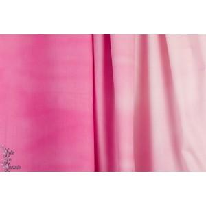 Popeline Cotton Steel Pigment Peony rose