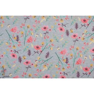 Softshell fleurs des champs colorés