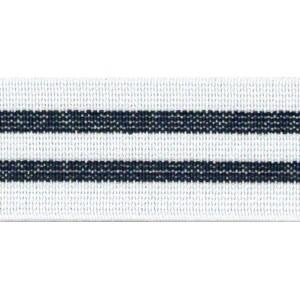 Elastique rayure bleu 25mm slio boxer ceinture