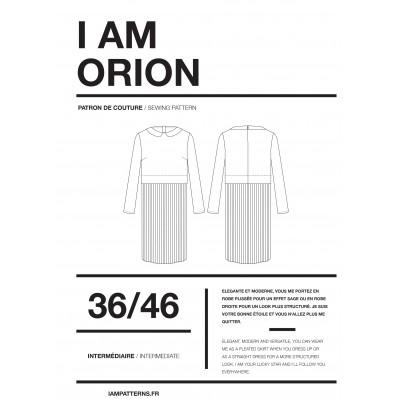 Patron couture Robe et Top ORION femme de I AM Patterns.