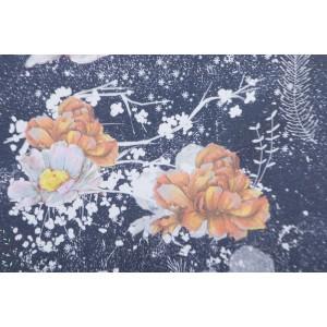 Summersweat Bio Winterblumen Lillestoff fleur femme hiver rose bleu