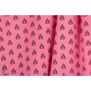 Softshell hilco Souple Triangles roses