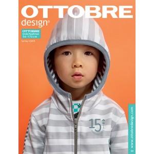 Magazine Ottobre Design Kids 1/15 Anglais avec explication Français