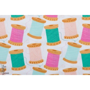 Popeline Dashwood STITCH 1451 - bobines de fil bethan couture patch