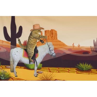"""panneau Stenzo ''Mexique"""""""" chart cheval cactus orange garçon"""