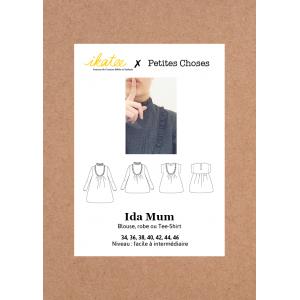Patron Couture IDA MUM Ikatee et Petites Choses