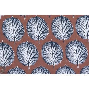 jersey Bio Feuilles d'hiver, Winterblatt , Design: Susanne Bochem/ SUSAlabim pour lillestoff