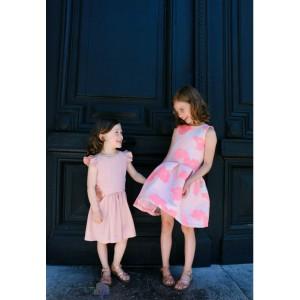 patron robe Hanani Straight Grain robe couture enfant fille