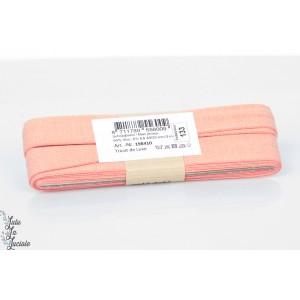 Biais jersey de luxe 133 Corail rose