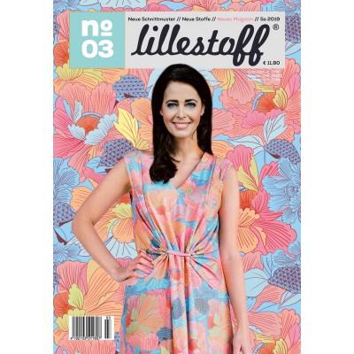Magazine Lillestoff 3/2019  Allemand patron mode femme couture