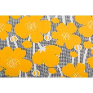 jersey Bio Paapii Buttercup Sun Black fleur graphique jaune