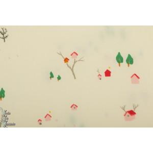 Popeline Bio Birch tree house - Whistle