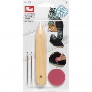 Set d'outils pour espadrilles