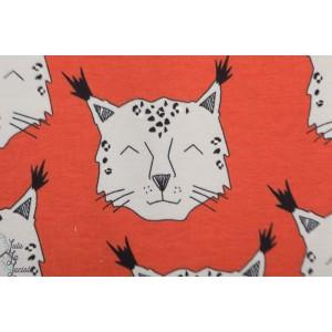 Jersey Bio snowlynx Ginger Elvelyckan Design rouge