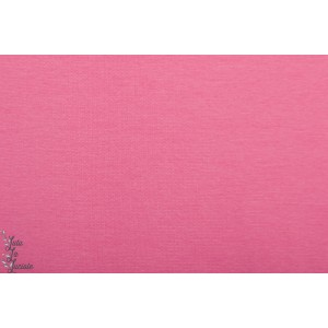Tissu Bord-Côtes Rose tubulaire