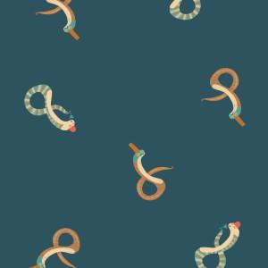 Tissu imperméable  Snake's Party katia
