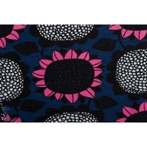 jersey Bio Paapii Sunflower Bluebery Pink tournesol fleur