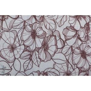Modalsweat deninflower grey lillestoff fleur mode femme