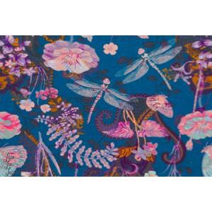 Jersey Bio trollslanda Turquoise By Ernst fleur libellule bleu troll