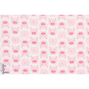 Flanelle Bio Dolitles Pig Cloud9 pyjam doux petit cochon layette enfant