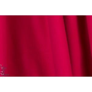 Velours milleraie Poppy couleur 76 rouge