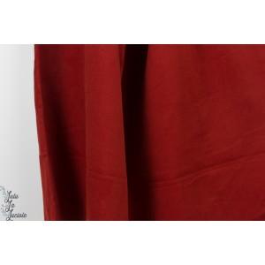Velours  Millereraie strech needlecord rouge brique