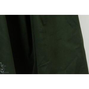 Velours milleraie strech Pine green