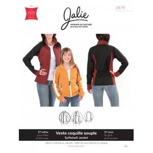 Patron Softshell Jacket Jalie pour fille et femmes